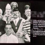 ICHOF Inductee Charlie Chaplin visiting the The Chicky clowns at Circus Knie.
