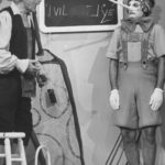Red Skelton and Marcel Marceau performing Pinocchio