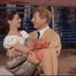 Merry Andrew - Danny Kaye catches the love interest from the trapeze
