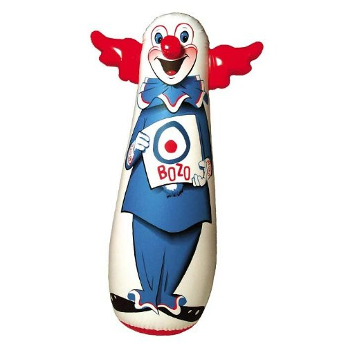 Bozo the clown punching bag