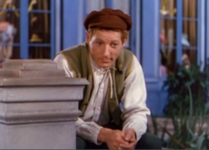 Danny Kaye as Hans Christian Andersen, singing The Ugly Duckling