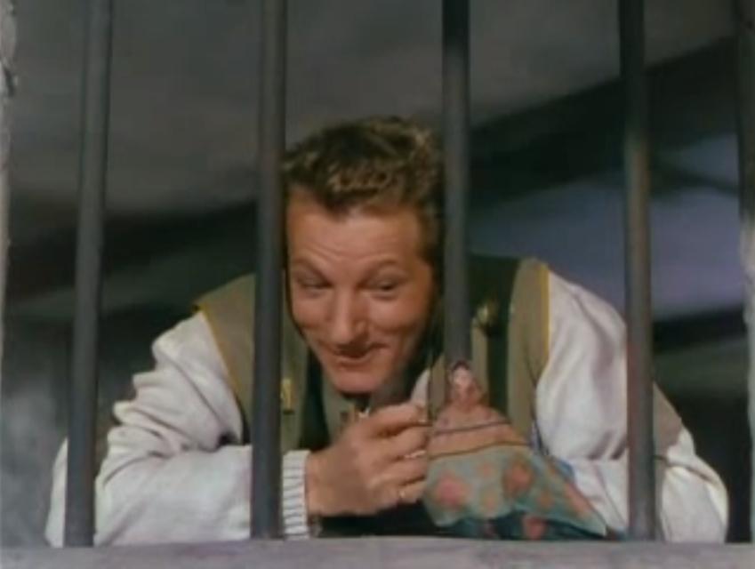 Danny Kaye singing Thumbelina in Hans Christian Andersen