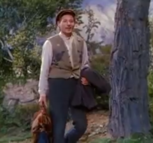 Danny Kaye singing Anywhere I Wander in Hans Christian Andersen
