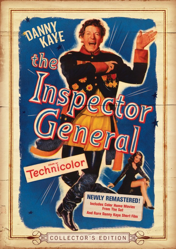 The Inspector General - Danny Kaye - Walter Slezak - Elsa Lanchester - DVD - Collector's Edition - 'the Inspector General, generally he inspects' -- one of the screens' greatest clowns, in a hilarious movie