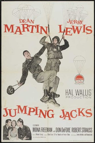 Jumping Jacks, starring Dean Martin and Jerry Lewis