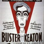 Circus Medrano poster for Buster Keaton