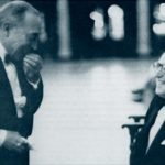 Buster Keaton and Harold Lloyd as older men