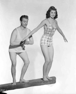 Red Skelton and Esther Williams in Bathing Beauty