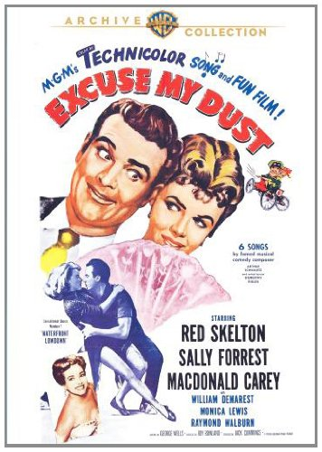 Excuse My Dust, starring Red Skelton, Sally Forest, William Demerest