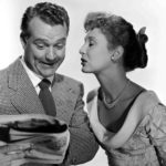 Red Skelton and Betty Garrett as the comedy couple in Neptune's Daughter