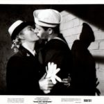Jerry Lewis kissing a girl in Sailor Beware