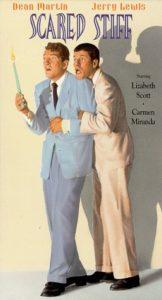 Scared Stiff (1953) starring Dean Martin, Jerry Lewis, Lizbeth Scott, Carmen Miranda