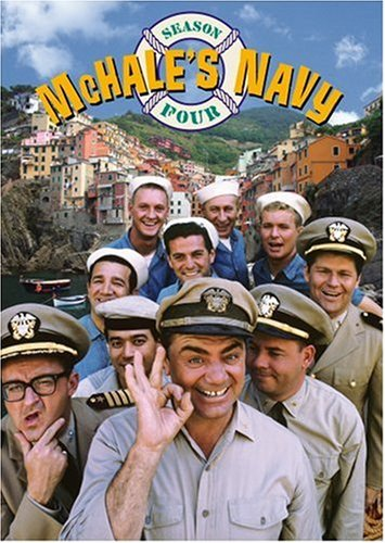 McHale's Navy season 4, starring Ernest Borgnine, Tim Conway, Joe Flynn, Jay Novello,