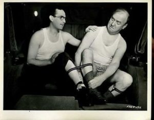 Harold Lloyd and William Frawley in Professor Beware