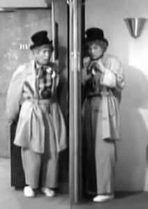 I Love Lucy - Harpo Marx and Lucille Ball doing the famous mirror scene