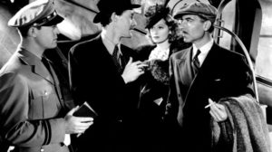 Chester Morris, John Carradine, Lucille Ball and Joseph Calleia in Five Came Back
