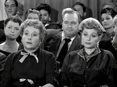 Ethel's Birthday - Ethel Mertz and Lucy Ricardo at the theater