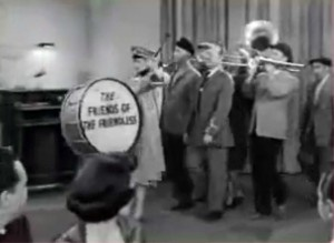I Love Lucy - Lucy leads a procession of the Friends of the Friendless into the Tropicana