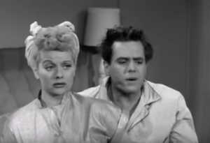 Lucy is Jealous of Girl Dancer - Lucille Ball, Desi Arnaz