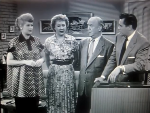 Lucy's Showbiz Swan Song - Lucy, Ethel, Fred and Ricky try to sing Sweet Adeline
