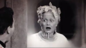 The Freezer - Lucy gets herself locked in the meat freezer
