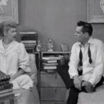 The English Tutor - Lucy tries to convince Ricky that their expected child will learn perfect English
