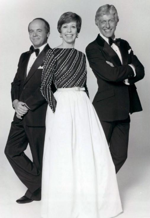 Tim Conway, Carol Burnett, and Dick Van Dyke - The Carol Burnett Show in 1977