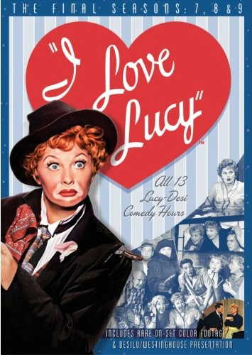 I Love Lucy - all 13 Lucy-Desi Comedy Hours - includes rare on-set color footage & Desilu/Westinghouse Presentation