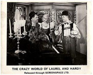 Oliver Hardy, Grete Natzler, Stan Laurel