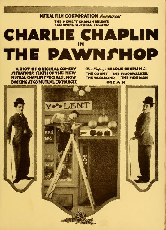 The Pawnshop (1916) starring Charlie Chaplin, Edna Purviance, Henry Bergman, Albert Austin