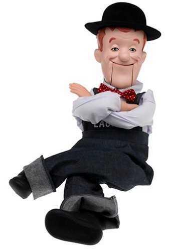 24 inch Stan Laurel ventriloquist doll