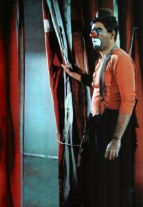 Jerry Lewis as the unlikeable circus clown in The Family Jewels