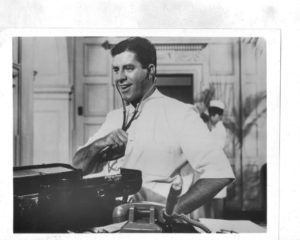 Jerry Lewis using a stethoscope on himself in The Disorderly Orderly - buy from Amazon.com